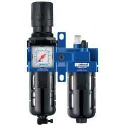 Filtre régulateur lubrificateur avec manomètre PREVOST