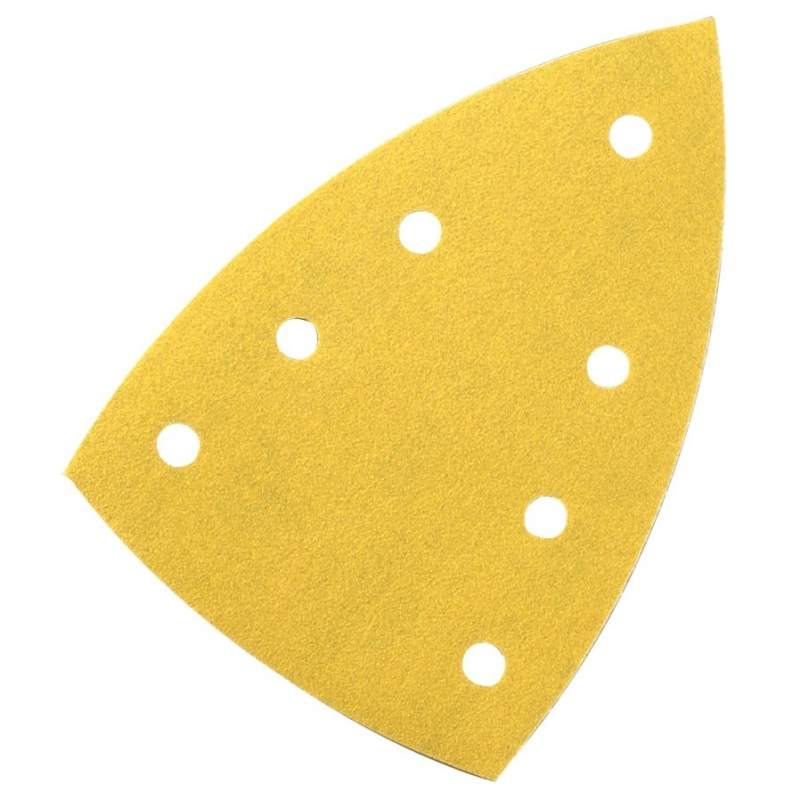 100/x Papier abrasif Feuille abrasive 150/mm 6/trous k/örn = 40/pour ponceuse excentrique