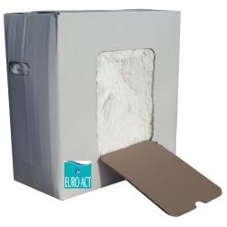 Carton chiffon blanc