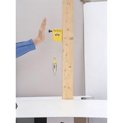 Fil à plomb pour maison ossature bois