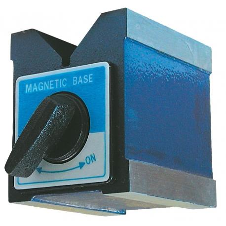 Equerre magnétique à bouton